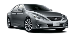 car rental toyota mark x