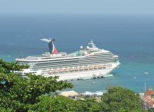 Ocho Rios - Ship at Port